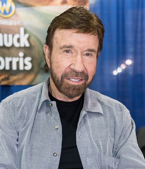 Chuck Norris at Pennsylvania Convention Center on June 3, 2017 in Philadelphia, Pennsylvania.   Photo: Getty Images