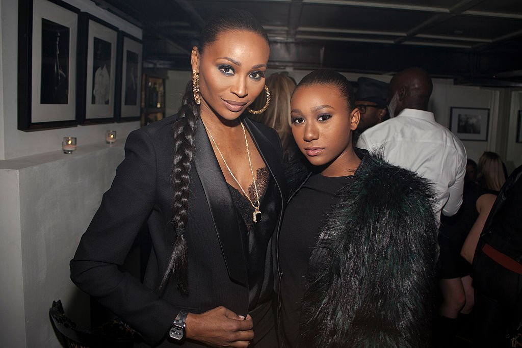 Cynthia Bailey and daughter, Noelle Robinson at the former's birthday celebration in February 2016. | Photo: Getty Images