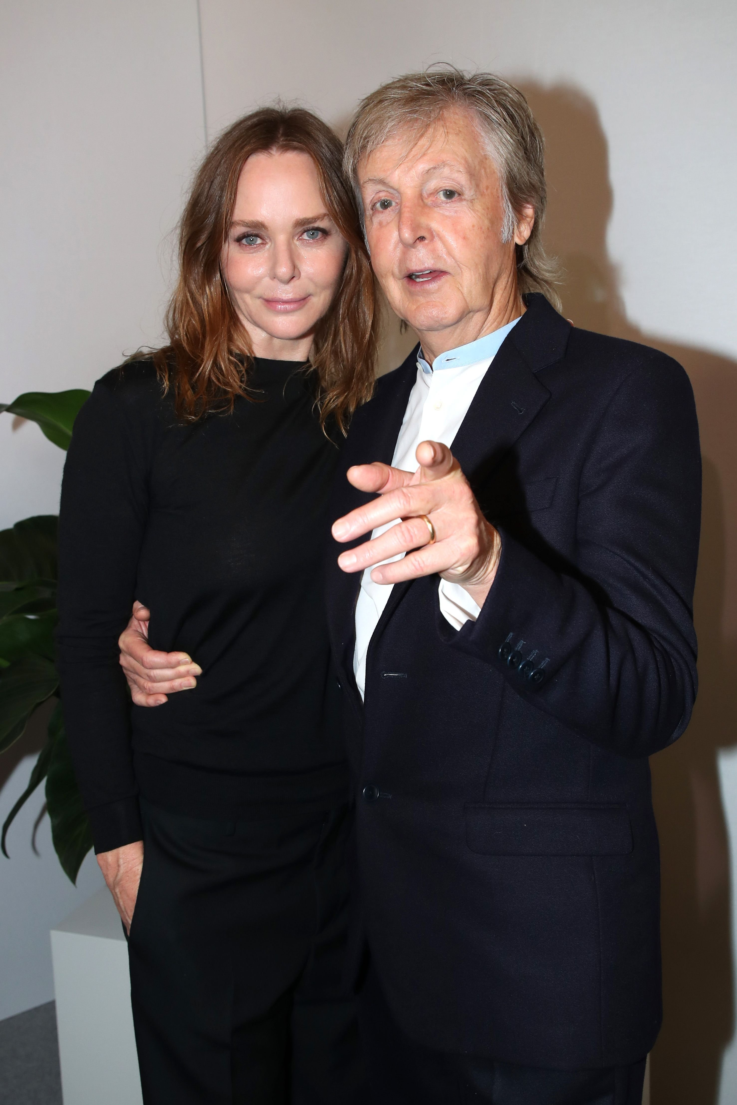 Stylist Stella McCartney and her father Paul McCartney pose after the Stella McCartney Womenswear Spring/Summer 2020 show as part of Paris Fashion Week on September 30, 2019 in Paris, France.   Source: Getty Images
