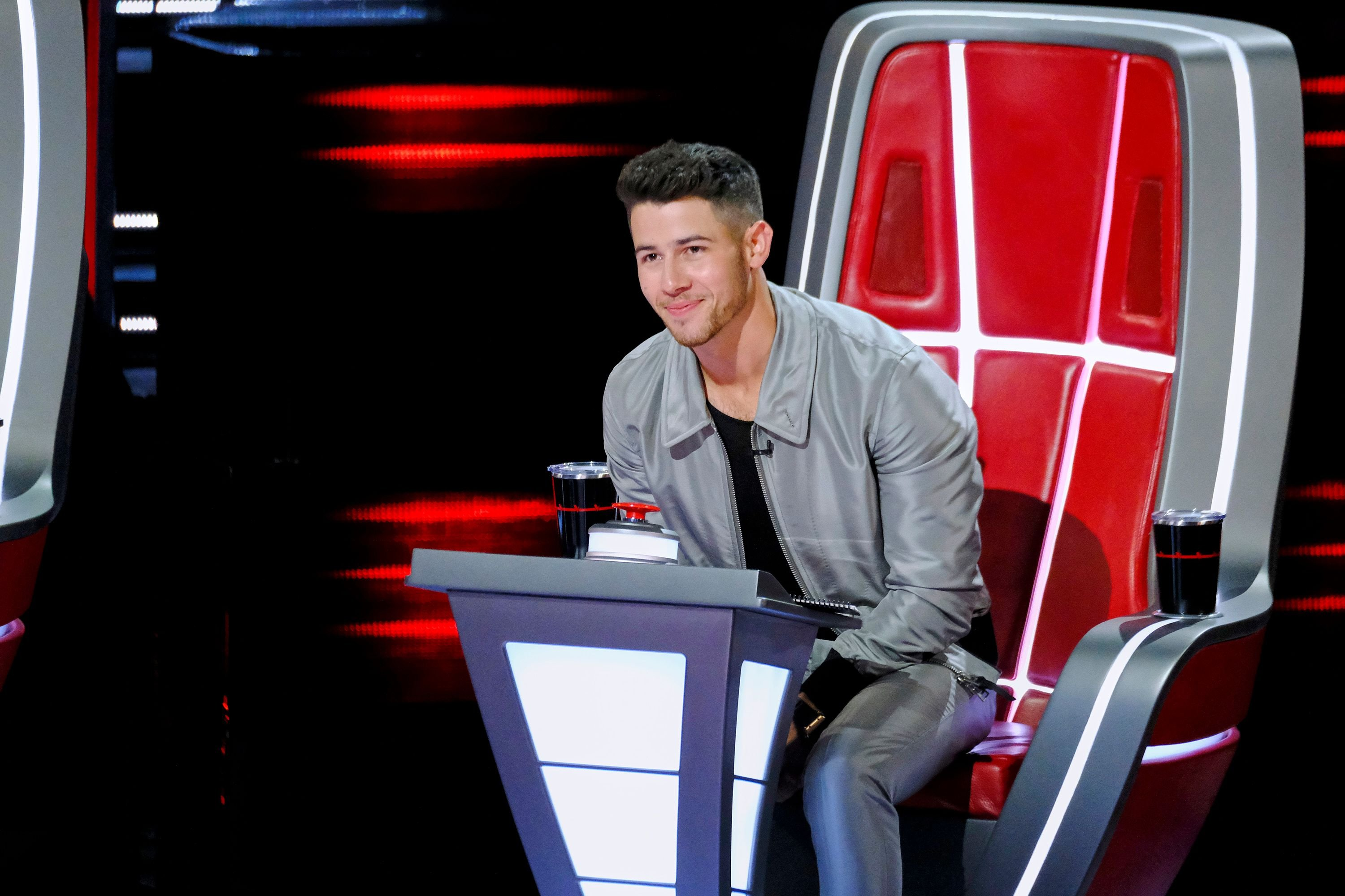 Nick Jonas on his coaching duty at The Voice - Season 18 | Photo: Getty Images