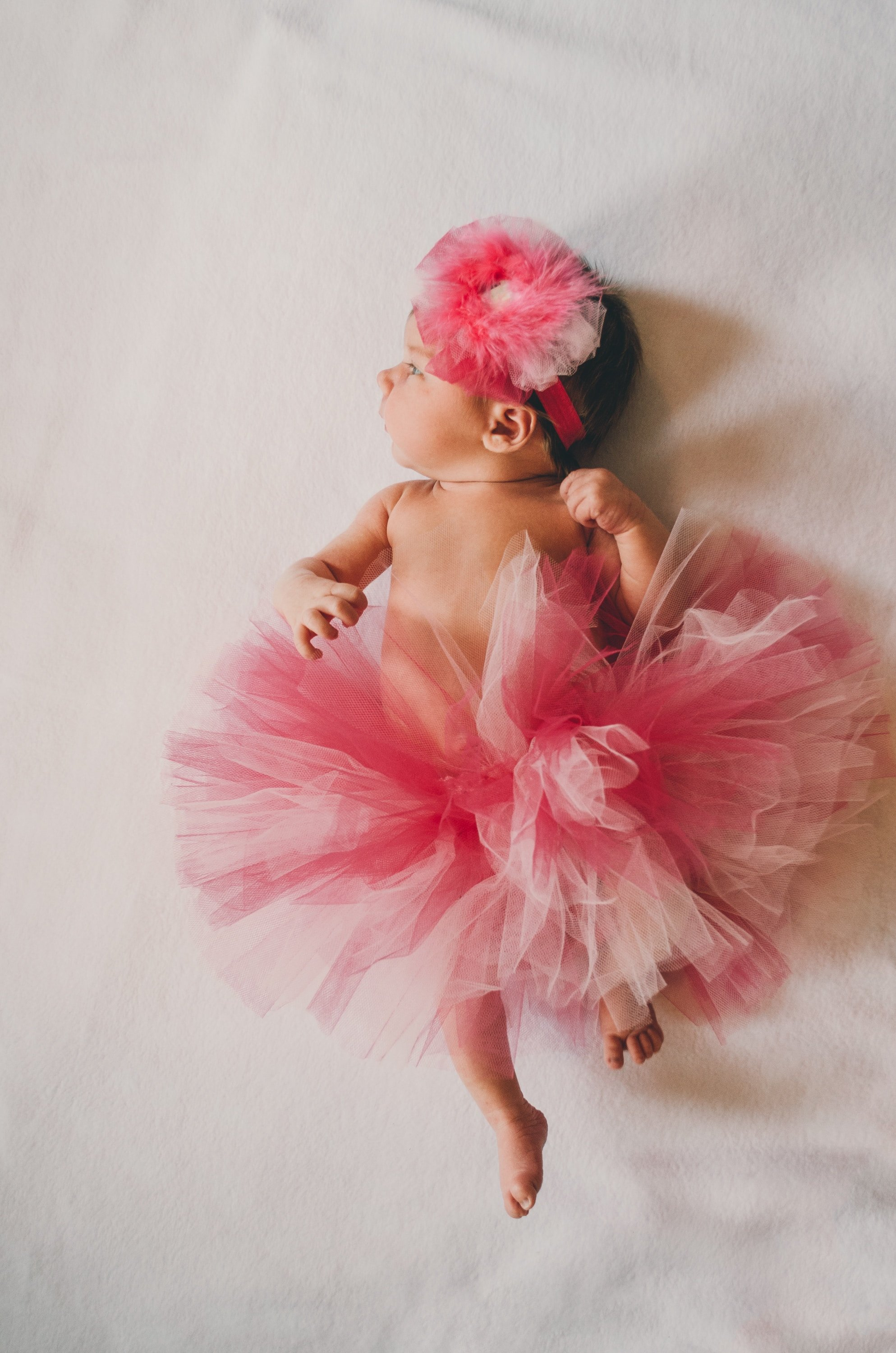 A baby in a ballerina costume | Source: Unsplash.com