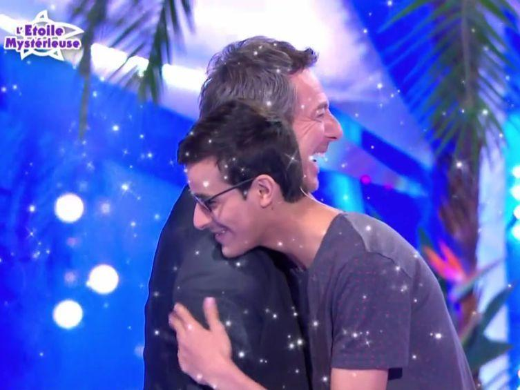 La photo de Paul avec Jean-Luc Reichmann | Source: Twitter Voici
