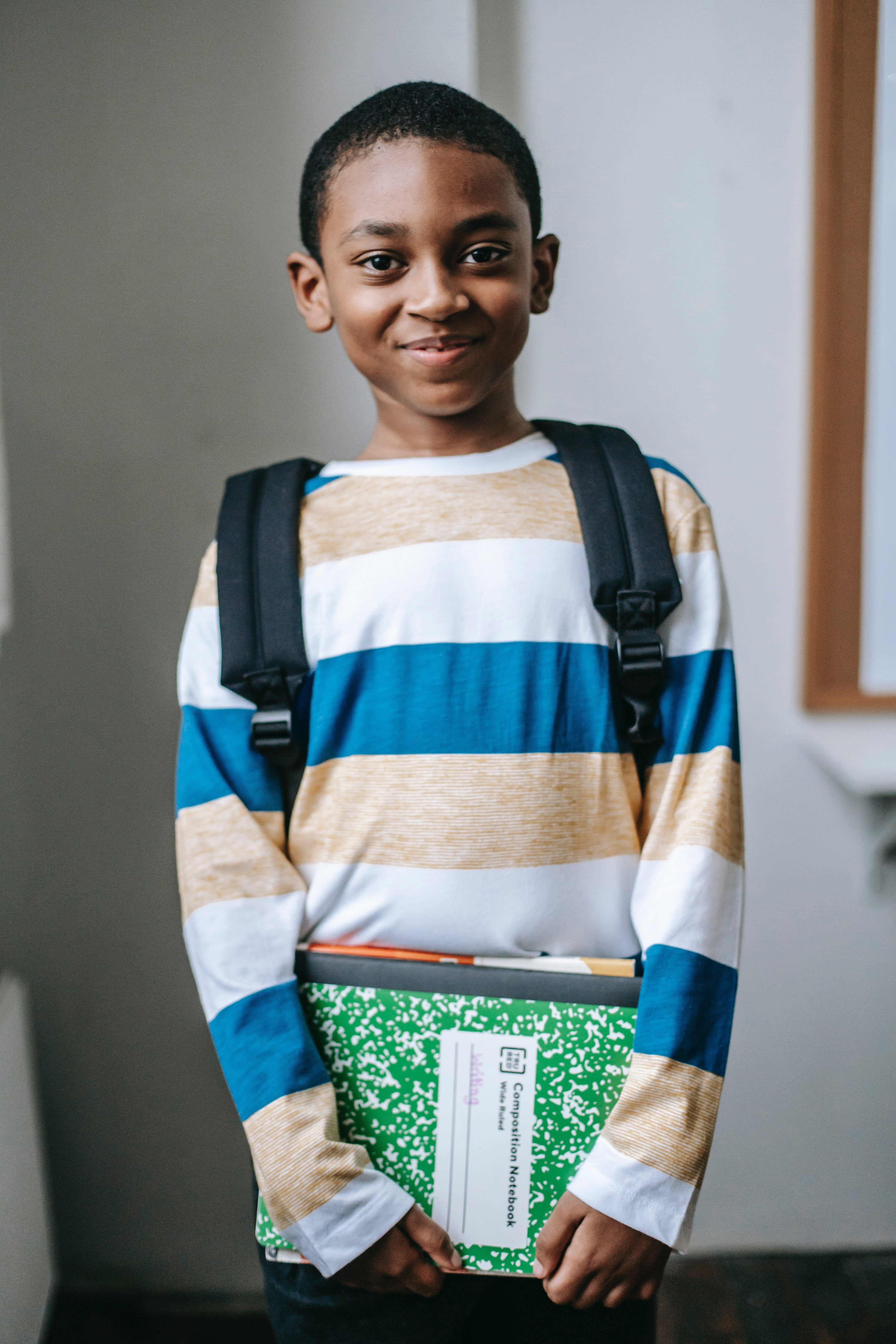 Little Johnny stayed calm and tackled his teacher's questions confidently.   Photo: Pexels