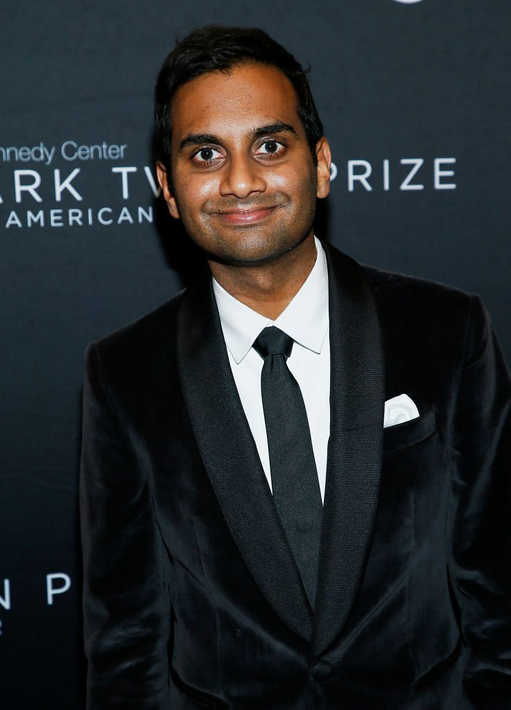 Aziz Ansari attends the 22nd Annual Mark Twain Prize for American Humor at The Kennedy Center | Getty Images