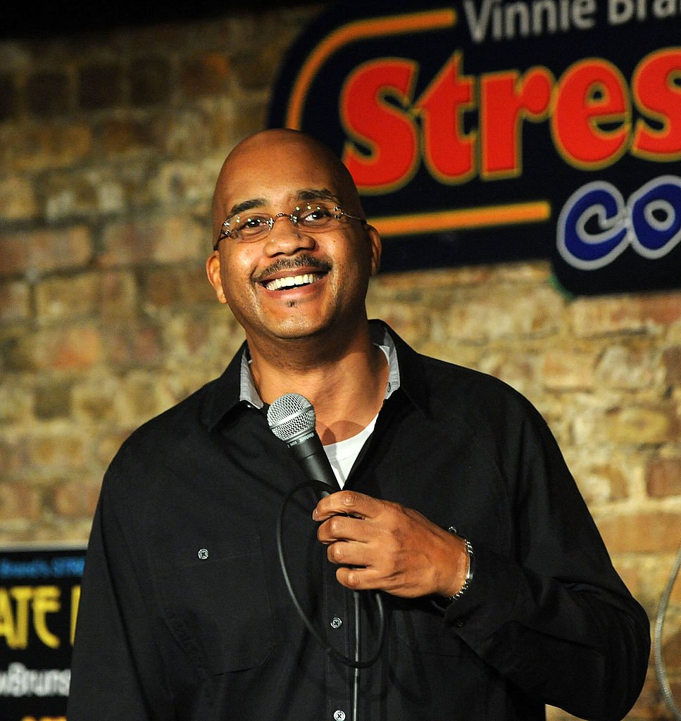 John Henton headlining at The Stress Factory Comedy Club, January 2011   Source: Getty Images