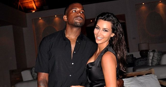 Kim Kardashian Celebrates Husband Kanye West's 43rd Birthday Birthday with Throwback Snaps
