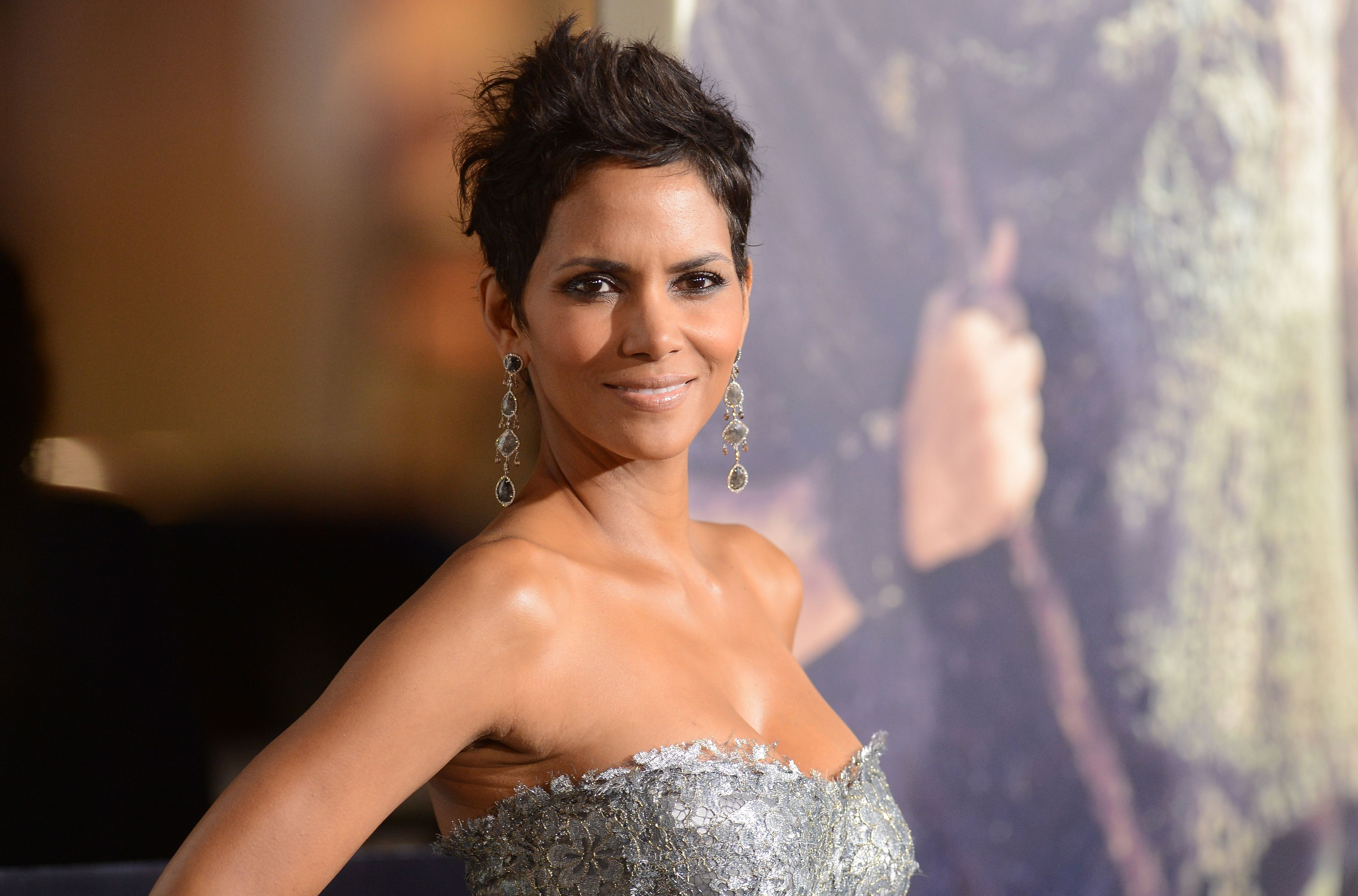 """Halle Berry at Warner Bros. Pictures' """"Cloud Atlas"""" premiere at Grauman's Chinese Theatre on October 24, 2012 in Hollywood, California 