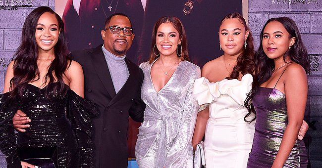 Martin Lawrence Proudly Shares Photos with His 3 Stunning Daughters on Father's Day