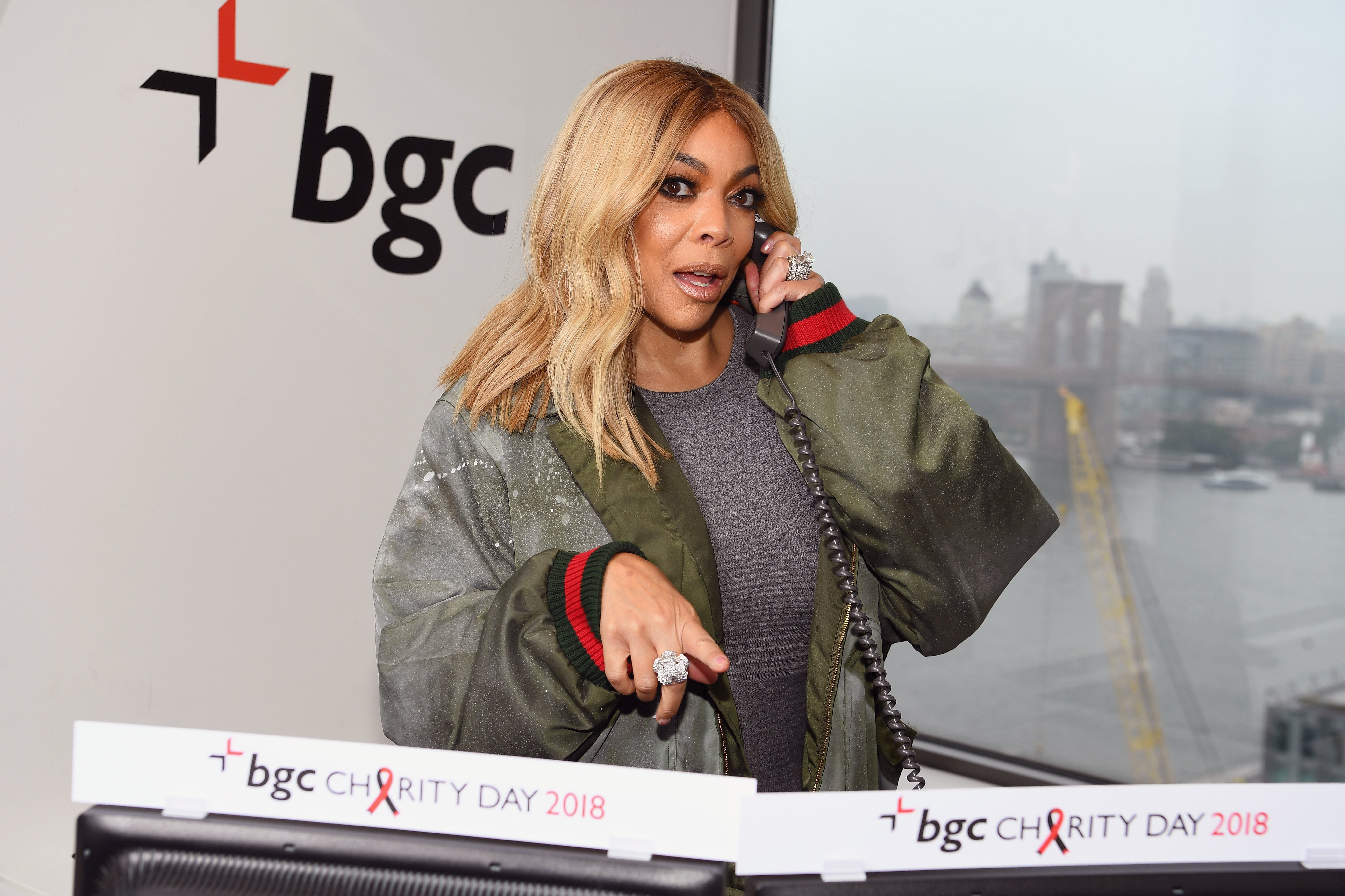 Wendy Williams attends Annual Charity Day hosted by Cantor Fitzgerald. | Photo: GettyImages