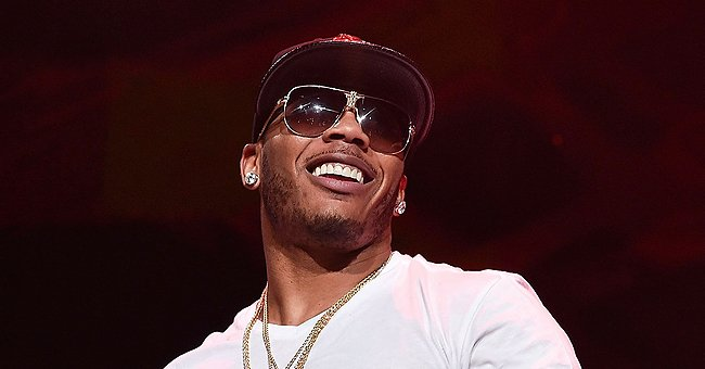 Nelly's Girlfriend Shantel Jackson Is in the Holiday Mood Showing off Her Huge Christmas Tree