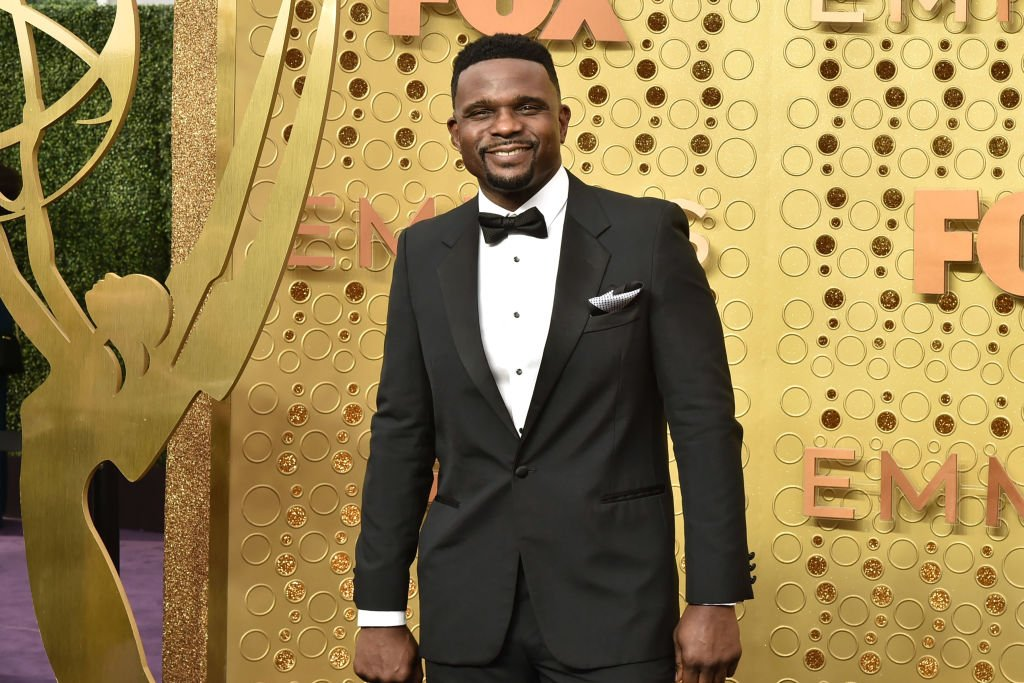 """Family Matters"" actor Darius McCrary graces the 2019 Emmy Awards in Los Angeles, California. 