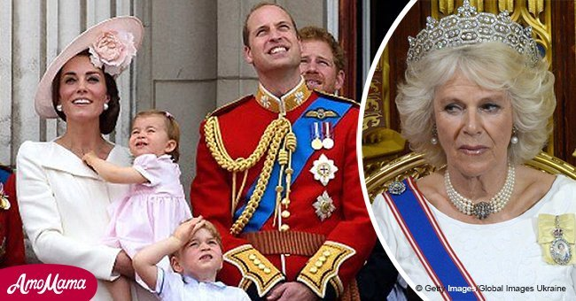 Prince George and Princess Charlotte don't call Camilla 'granny'. So what do they call her?