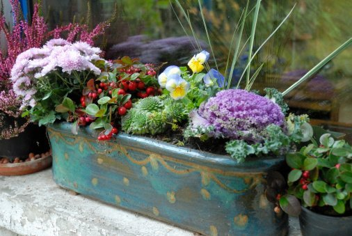 Basket of flower | Photo: Getty Images