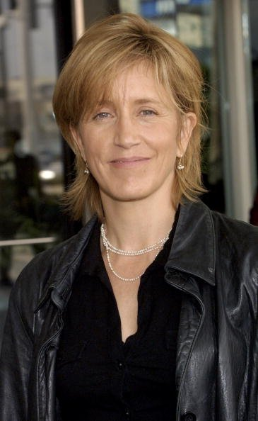 Felicity Huffman, TCA Press Tour, Hollywood, 2003 | Quelle: Getty Images