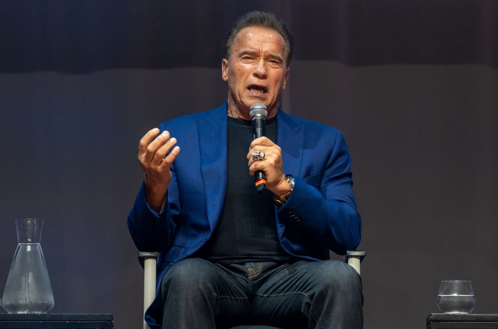 Arnold Schwarzenegger attends a press conference for Arnold Classic Europe 2019 at the theater Victoria in Barcelona, Spain. | Photo: Getty Images