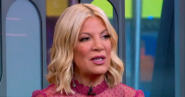 Tori Spelling of 'Beverly Hills 90210' Pays Tribute to Late Dad Aaron Commemorating His Birthday