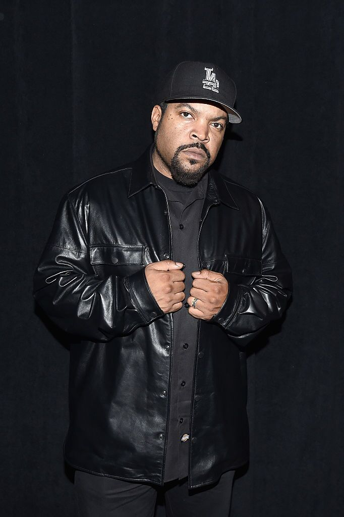 Ice Cube backstage during a Kenzo x H&M launch event in October 2016. | Photo: Getty Images