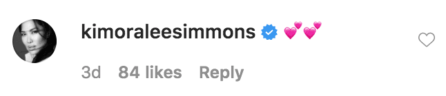 Kimora Lee Simmons commented on a photo of herself, Ming Lee Simmons, Aoki Lee Simmons, Kenzo Lee Hounsou, Wolfe Lee Leissner, and Gary Lee Leissner | Source: Instagram.com/unclerush