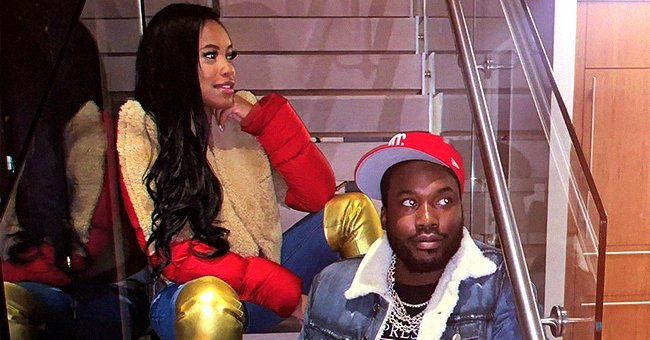 Meek Mill and Milan Harris Welcome Their 1st Child Together on the Rapper's Birthday