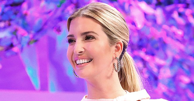 Ivanka Trump Is Epitome of Beauty in Gorgeous Blue Silk Shirt & Matching Skirt at USAID Event