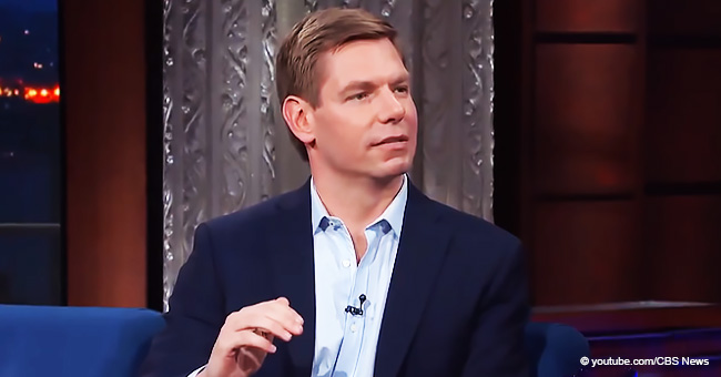 Rep. Eric Swalwell Declares He's Running for 2020 Presidential Race during Colbert's 'Late Show'