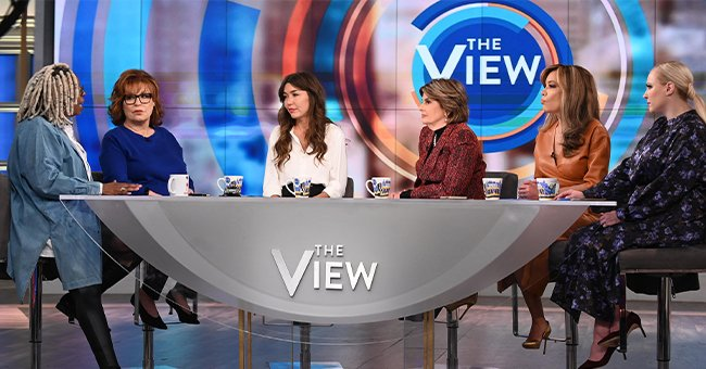 """The daytime talk show panel along with Mimi Haleyi and Gloria Allred as guests on ABC's """"The View"""" on February 25, 2020 