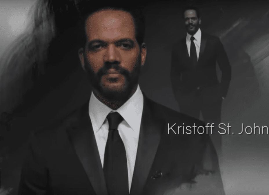 Poster de Kristoff St. John | Youtube/Inside Edition