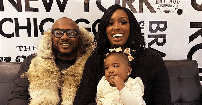 Porsha Williams Shares Photo of Daughter Pilar in a Burberry Jacket & Fans Say She Looks like Dad Dennis McKinley