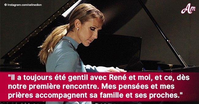 Céline Dion dévastée pleure la mort de l'un de ses amis décédé (Photo)