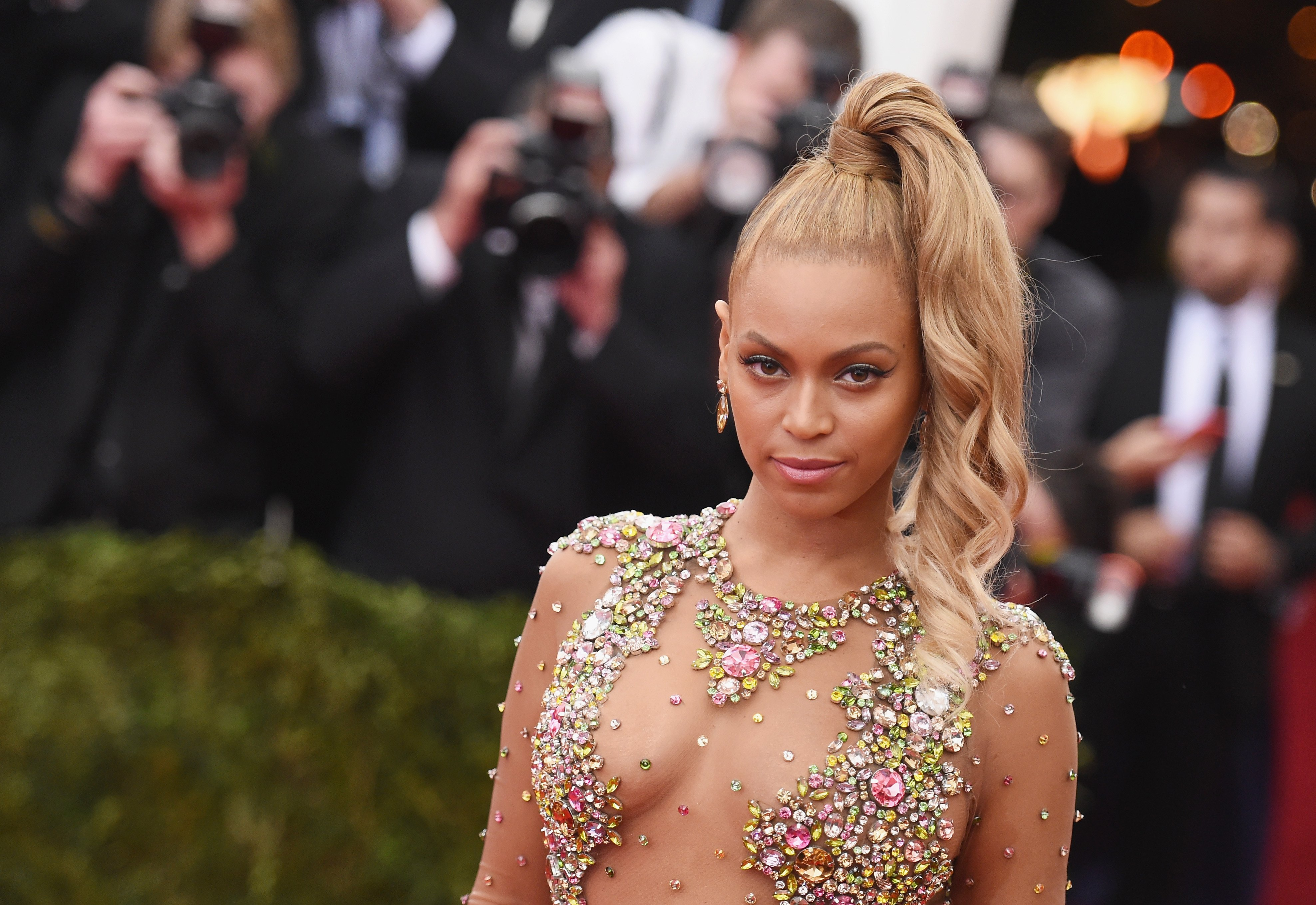 Beyonce at the 'China: Through The Looking Glass' Costume Institute Benefit Gala in New York City on May 4, 2015. | Photo: Getty Images