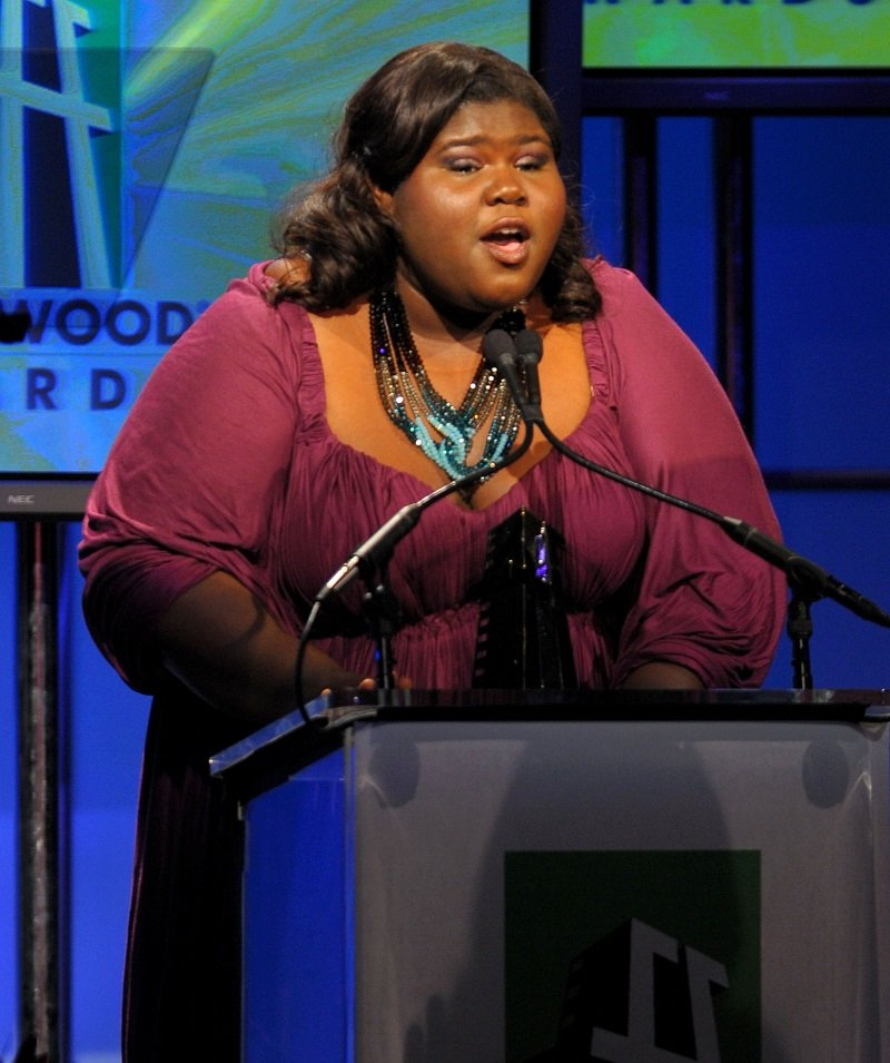 Gabourey Sidibe on October 26, 2009 in Beverly Hills, California | Photo: Getty Images