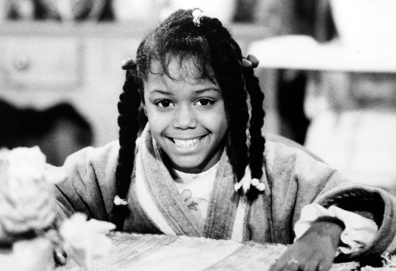 """Jaimee Foxworth on """"Family Matters,"""" November 17, 1989. 