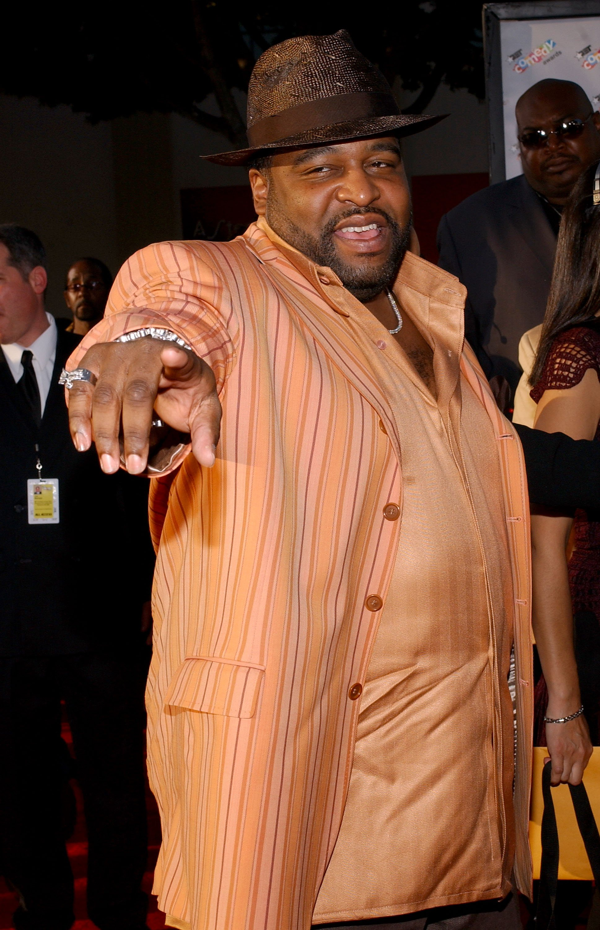 """Gerald Levert arrives to the """"First-Ever"""" BET Comedy Awards at the Pasadena Civic Auditorium September 28, 2004.   Photo: GettyImages"""
