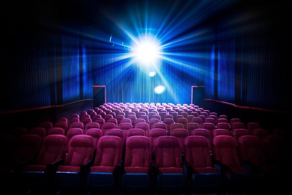 A movie theater.| Photo: Shutterstock.