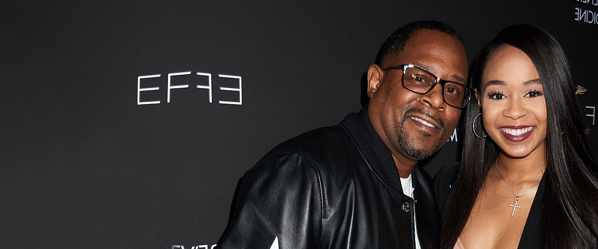 Martin Lawrence's Daughter Jasmin Fits Her Hourglass Figure into Tight Mini Dress Showing Enviable Thighs