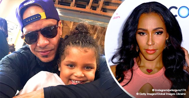 Peter Gunz shares pic with daughter after Amina Buddafly blasted him for skipping Cori's 4th b-day