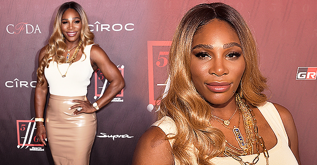 Serena Williams Ditches Her Curls for Blonde Waves at SI's Fashionable 50 Event