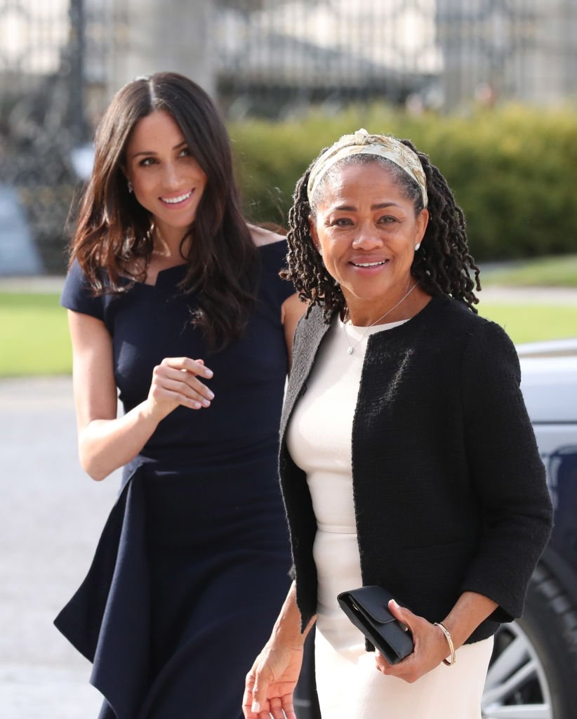 Meghan und ihre Mutter | Quelle: Getty Images