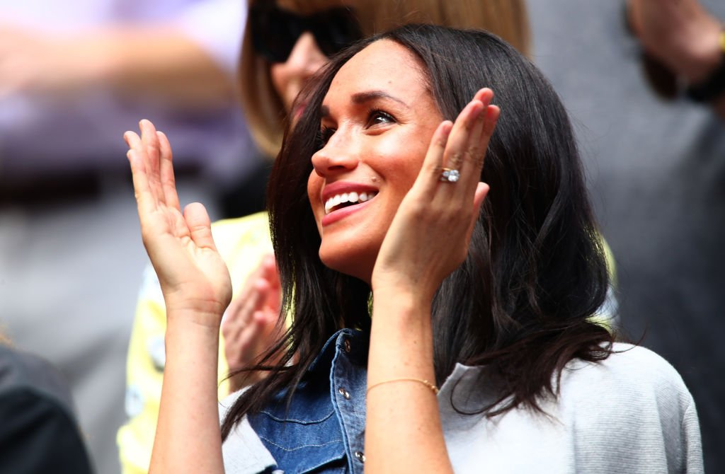 Meghan Markle du match de Serena Williams à l'US Open | Image: Getty Images