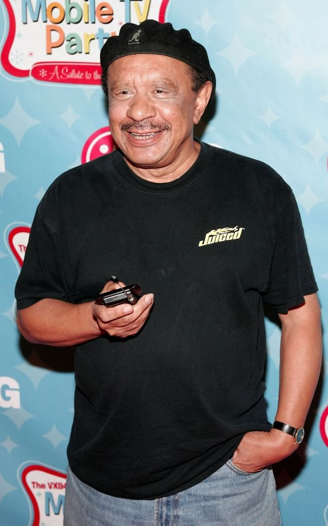 Actor Sherman Hemsley arrives at the LG's Mobile TV Party held at Paramount Studios | Photo: Getty Images