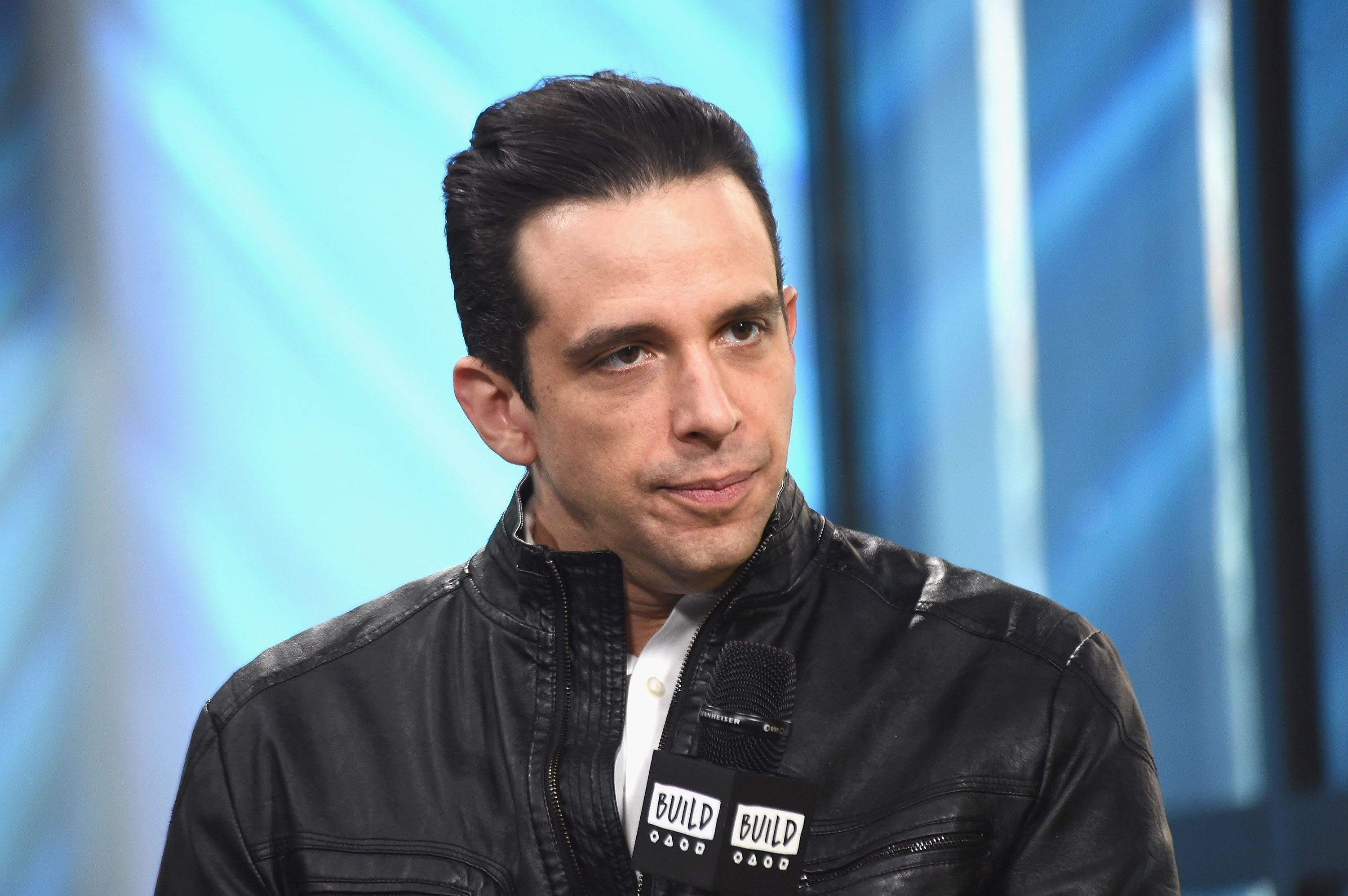 Late Actor Nick Cordero at the Build Series to discuss his starring role as Sonny in the Broadway show 'A Bronx Tale' at Build Studio on March 16, 2017 in New York | Photo: Getty Images