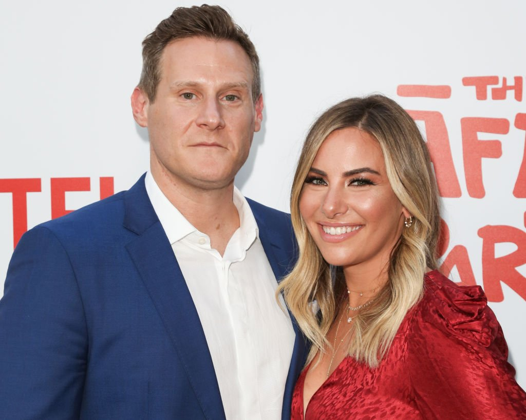Trevor Engelson and Tracey Kurland at The Screening Of Netflix's 'The After Party', August 2018   Source: Getty Images