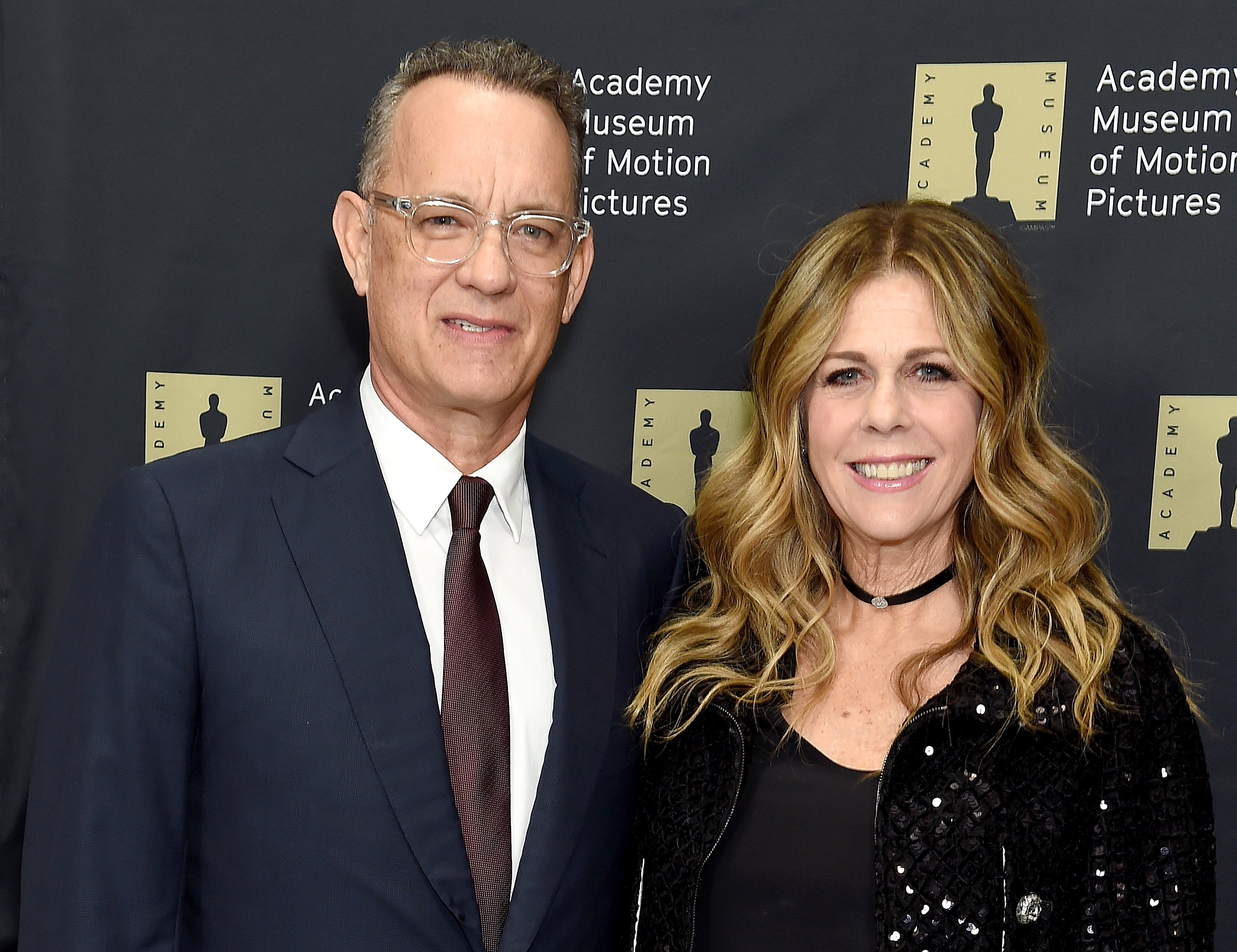Tom Hanks and Rita Wilson at the unveiling of the Fully Restored Saban Building at Petersen Automotive Museum in Los Angeles, California | Photo: Gregg DeGuire/Getty Images