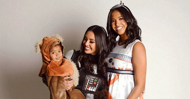 Here's How Vanessa Bryant & Her Daughters Celebrated Their 1st Halloween without Kobe and Gianna