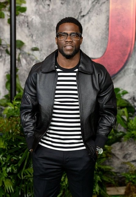 "Kevin Hart attends the ""Jumanji: Welcome To The Jungle"" UK premiere at the Vue West End on December 7, 2017. 