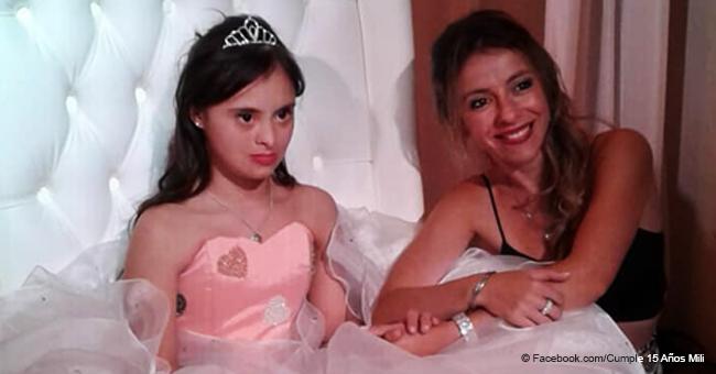 Toda una ciudad se unió para cumplir el sueño de los 15 años de una chica con síndrome de Down