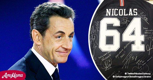 Nicolas Sarkozy a 64 ans: il reçoit un cadeau inattendu de son club favori, le PSG
