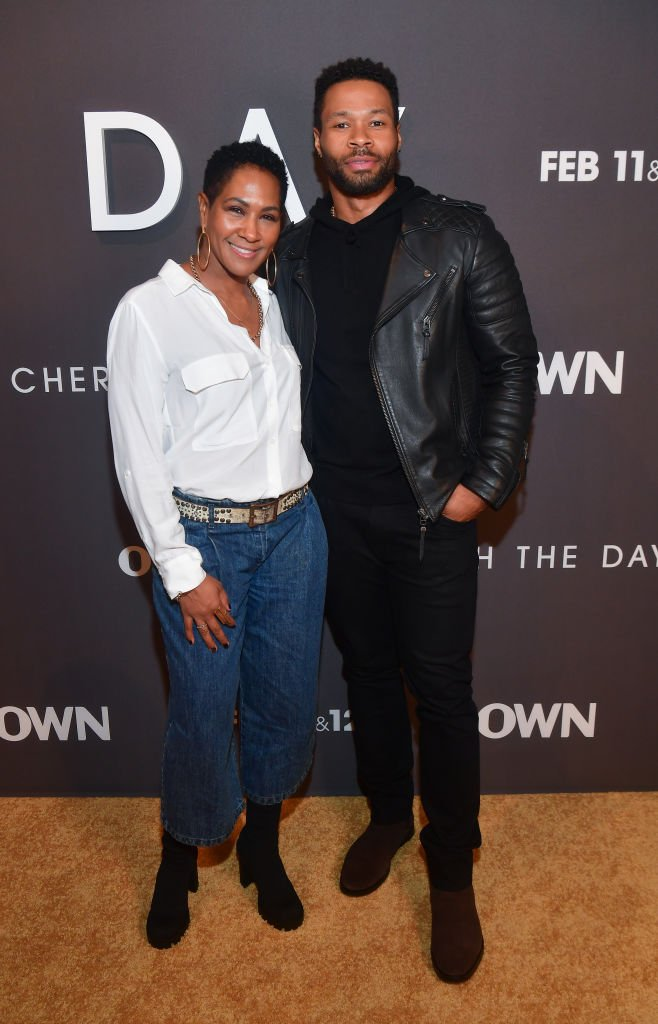 "Terri Vaughn and Karon Riley attend the ""Cherish The Day"" launch party 