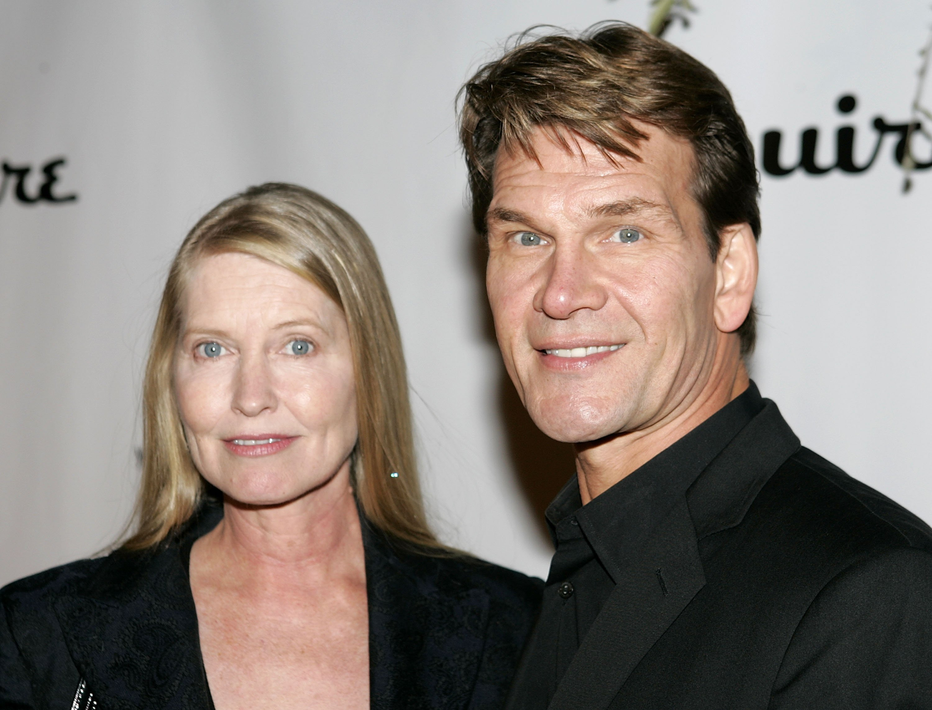The late Patrick Swayze with his wife Lisa Niemi | Photo: Getty Images