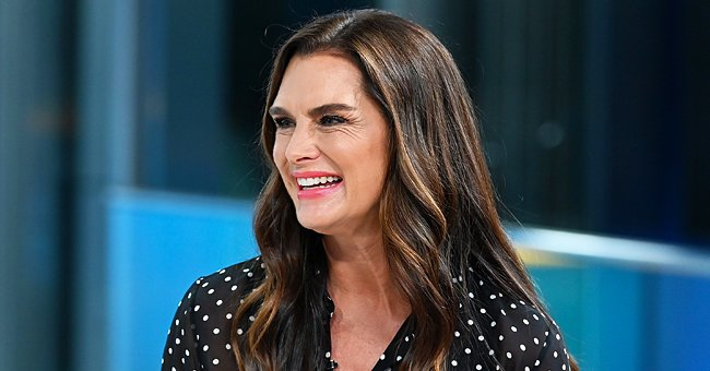 Brooke Shields, 55, Flaunts Her Tiny Waist in Gorgeous Low-Cut Sundress at a Marina
